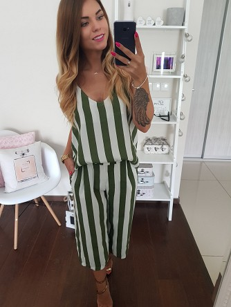 TOP GREEN STRIPES