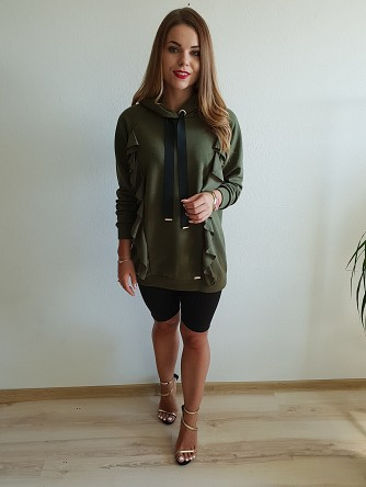 bluza long any khaki